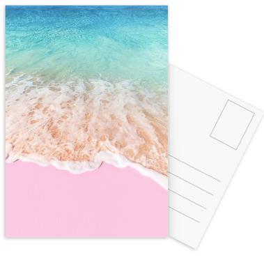 Pink Sand Set de cartes postales
