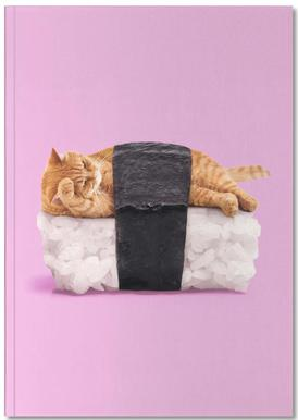 Sushi Cat Carnet de note