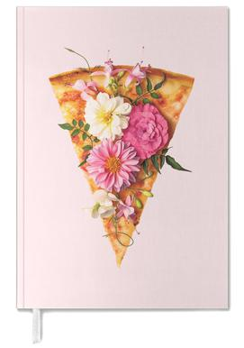 Floral Pizza Personal Planner