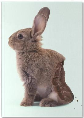 Chocolate Rabbit Notebook