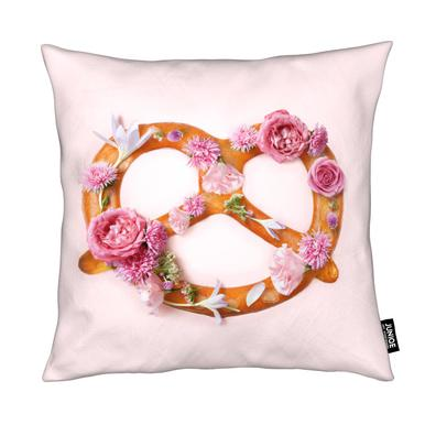 Floral Pretzel Kissen