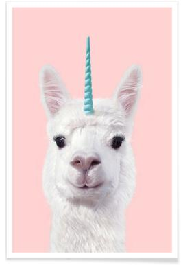 Alpaca Unicorn affiche