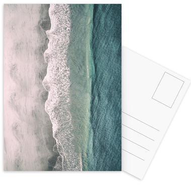 Ocean Waves 1 -Postkartenset
