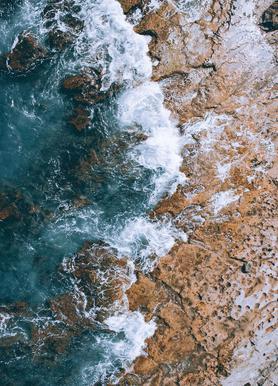 H2O canvas doek