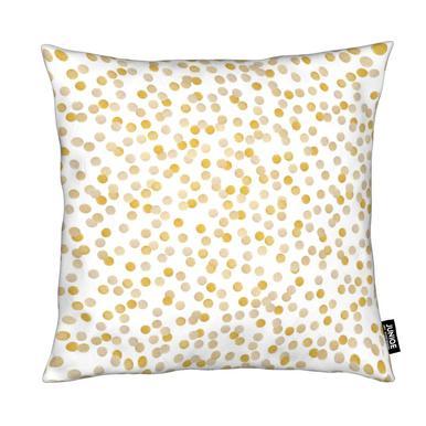 Gold Confetti Cushion