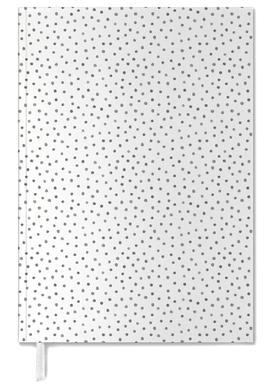 Grey Watercolor Dots Agenda