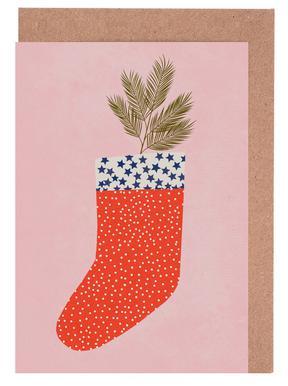 Christmas Sock Set de cartes de vœux