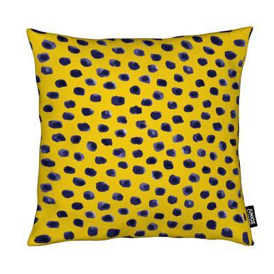 Blueberry Dots Cushion