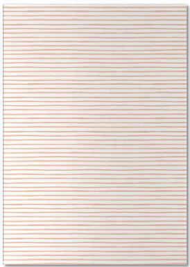 Blush Watercolor Stripes notitieblok