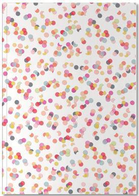 Confetti Mix Pink Carnet de note