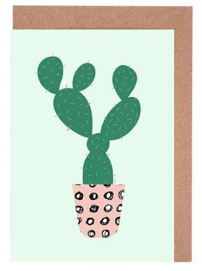 Cactus Greeting Card Set
