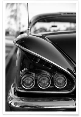 58 Chevrolet Impala Photograph Poster