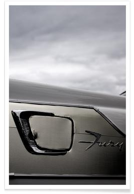 Plymouth Fury Photograph Poster