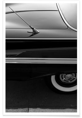 Black Impala Photograph Poster