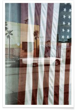 American Reflection Poster