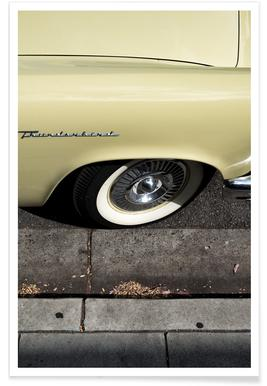 Thunderbird Yellow Photograph Poster