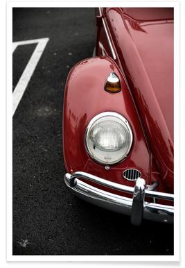 Red Beetle Poster