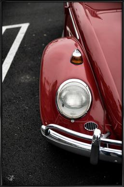 Red Beetle Framed Poster
