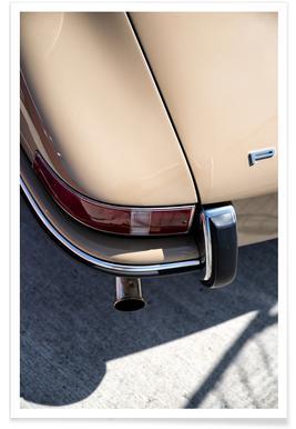 Porsche 911 Detail Affiche