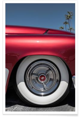 Mercury Red Poster