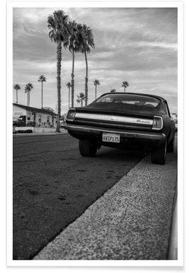 Plymouth Barracuda Photograph Poster
