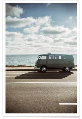 Wolfsburg Surf Poster