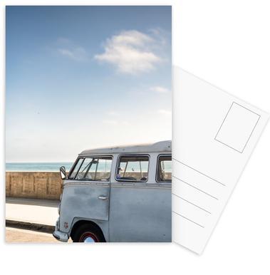 Wolfsburg Surf Blue II Postcard Set