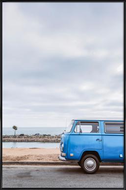 Blue Lagoon Poster in Standard Frame