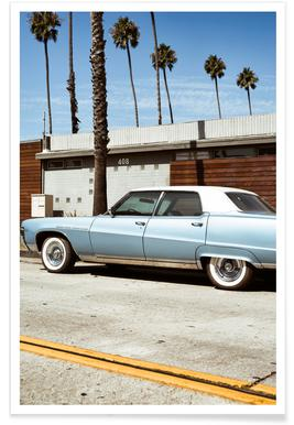 Buick Blue Poster
