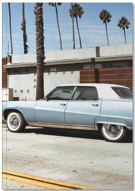 Buick Blue Notizbuch