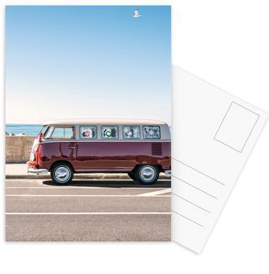 California Christmas Postcard Set