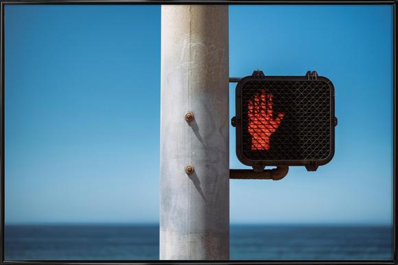Don't Stop! Poster im Kunststoffrahmen