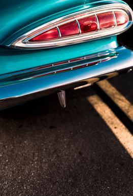 Impala Colors Plakat af aluminum