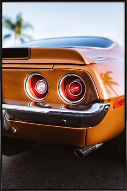 LA Camaro Poster in Standard Frame