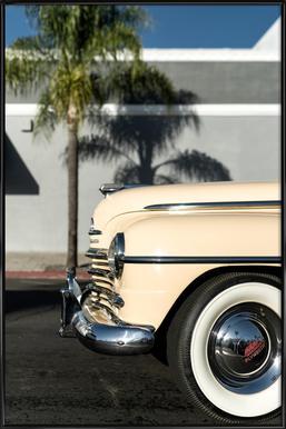 San Diego Plymouth affiche encadrée