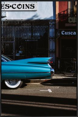 Turquoise Fins Plakat i standardramme