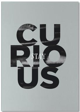 Stay Curious notitieblok