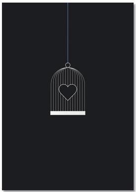 Heart Cage Bloc-notes