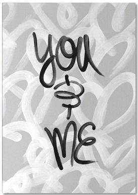 You and Me Bloc-notes