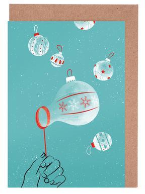 Bubbies Set de cartes de vœux