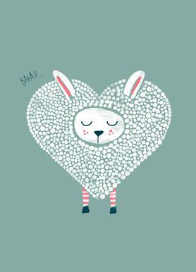 Cute Love Als Poster Door Doozal Juniqe