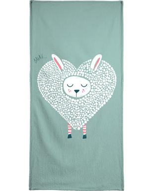 Cute Love Bath Towel