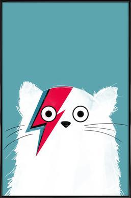 Cat - Hero 3 Affiche sous cadre standard