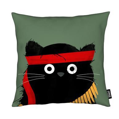 Cat - Rambo Cushion