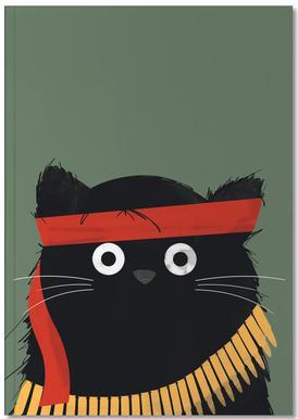 Cat - Rambo Notebook
