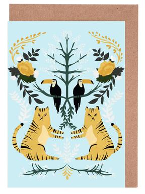 Lions Greeting Card Set