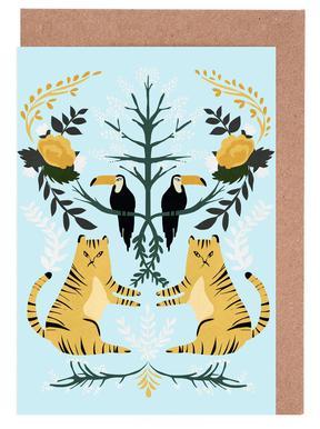 Lions cartes de vœux