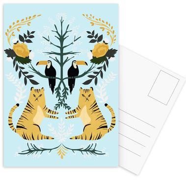 Lions Postcard Set