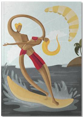 Surf Love Notebook