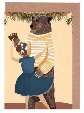 Dance Set de cartes de vœux
